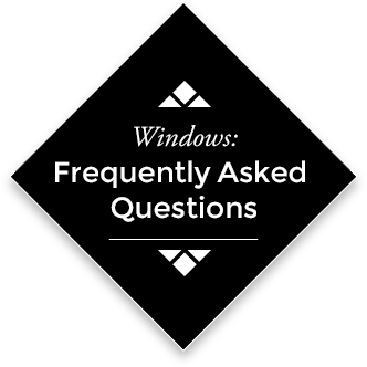 Windows: Frequently Asked Questions