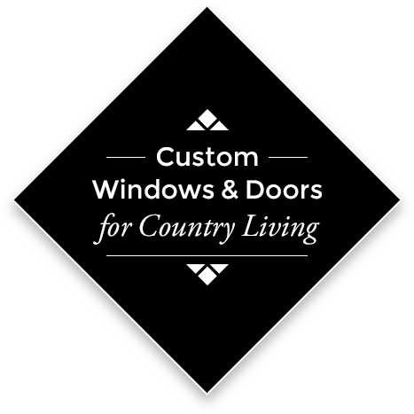 Custom Windows for Country Living