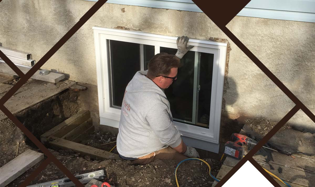 Installing Egress Basement Window