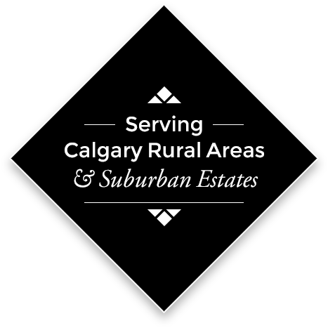 Serving Calgary, Rural Areas, & Suburban Estates